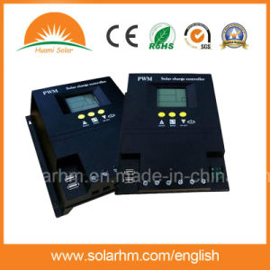 (HM-1250) Guangzhou Supplier 12/24V 50A LCD Screen Solar Controller pictures & photos