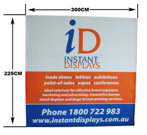 Fabric 3X3 Pop up Stand for Promotion Aluminum Backdrop Wall Pop up Display pictures & photos