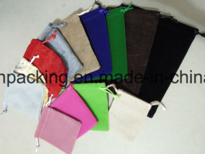 Single Side Velvet jewellery Bag/Pouch/ Gift Bag / Promotion Bag pictures & photos