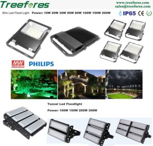 Slim 10W LED Flood Light Outdoor Lighting pictures & photos