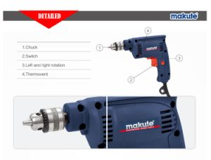 Makute 260W High Quality Electric Power Tools Drill (ED001) pictures & photos