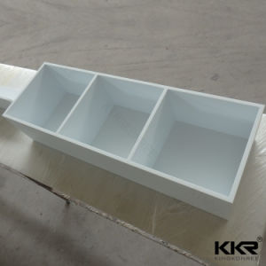 Customized Stone Solid Surface Bathroom Wall Shelves (KKR-170414) pictures & photos