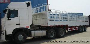 12 Meters Flatbed Van Type Semitrailer pictures & photos