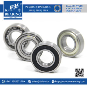 6206 2RS Low Friction Sealed Deep Groove Ball Bearing pictures & photos