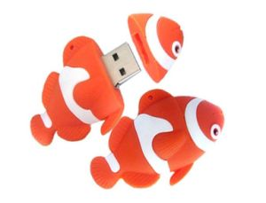 Customized PVC Fish USB Flash Drive Company Gift pictures & photos