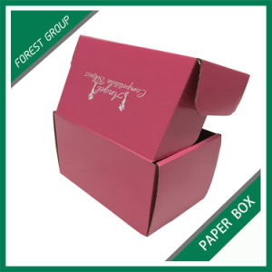 Custom Wholesale Foldable Pink Paper Packaging Box (FOREST PACKING 021) pictures & photos