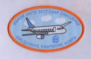 Customized Plane Design Overlocking Woven Badge pictures & photos