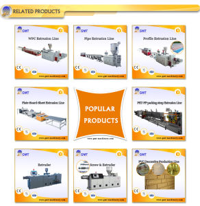 Plastic Production PE/PP Block Washing Recycling Extruder Making Machine pictures & photos