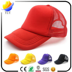 Custom Logo Advertising Foam Mesh Baseball Cap pictures & photos