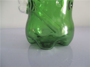 mm-018 Green Glass Smoking Pipe pictures & photos