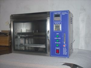 Horizontal Flammability Tester with Calibration pictures & photos