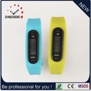 Pedometer Wristwatch Ladies Watch for Running Watches (DC-002) pictures & photos