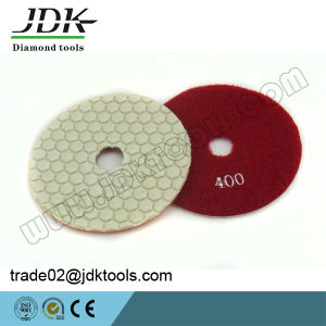 Jdk 100mm Dry Diamond Polishing Pads for Granite/Marble/Concrete pictures & photos