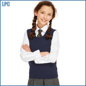 Fashion Girls′ Tank Top for Junior High School Uniform pictures & photos