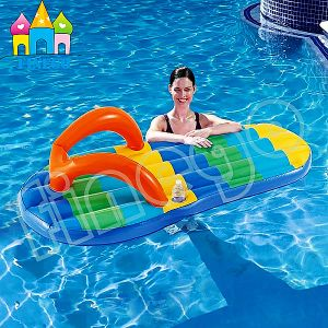 Inflatable Slipper Pool Float, Inflatable Flip Flop Float Ride on pictures & photos