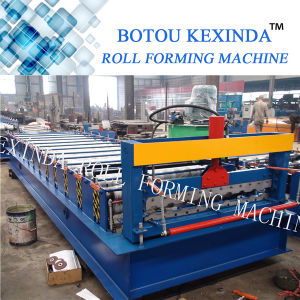 Roof Tile Roll Forming Construction Machine Tile Machine for Sale pictures & photos