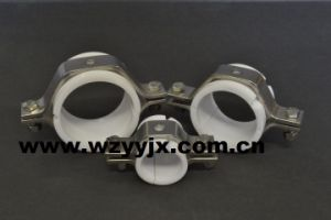 Stainless Steel Hex Pipe Hanger with PVC Insert pictures & photos
