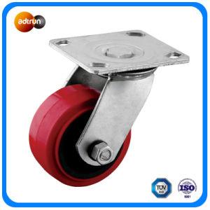 Heavy Duty Swivel Plate Polyurethane Wheel pictures & photos