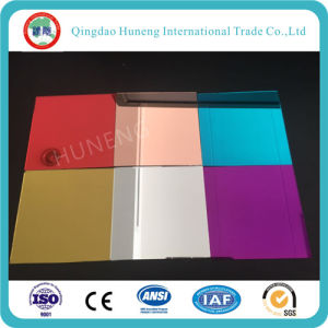 3mm Colored Float Mirror with Blue, Green, Wine Red, Purple Ect Color pictures & photos