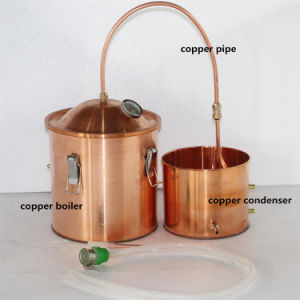 High Quality Red Copper Home Alcohol Distillation Kit Distillery Equipment pictures & photos