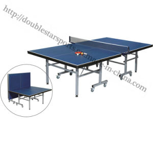 Foldable Movalbe Indoor Pingpong Table Tennis Table pictures & photos