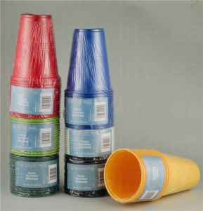 16oz (500ml) C1695120 Disposable Plastic Cup pictures & photos