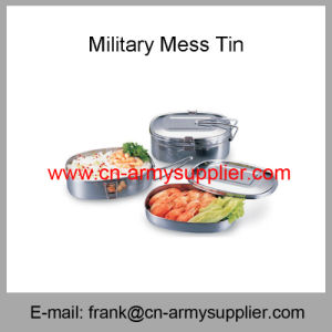 Army Mess Tin-Police Canteen-Military Tableware-Military Canteen-Military Mess Kit pictures & photos