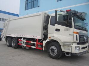 6X4 Foton Auman 18cbm Garbage Compactor Truck pictures & photos