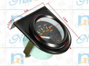"2"" 52mm Water Temperature Gauge of Black Background pictures & photos"