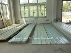 FRP Panel Corrugated Fiberglass/Fiber Glass Roofing Panels C17002 pictures & photos