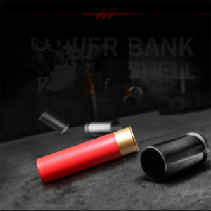 2600mAh Bullet Shell Power Bank Mobile Phone Charger pictures & photos