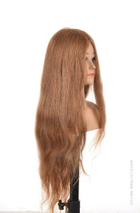 100% Remy Hair Training Head 30inches for Beauty School pictures & photos