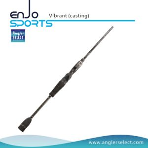 Vibrant One-Piece Carbon Fiber Spinning Rods with FUJI Sic Guides & FUJI Reel Seat pictures & photos