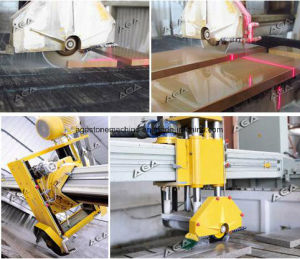 Diamond Wire Saw Machine Hq600 Bridge Cutting Machine for Granite Marble Bench Step pictures & photos