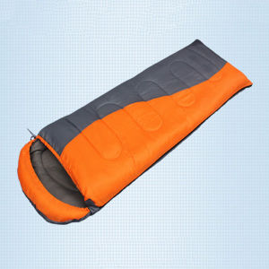 Multicolor Envelope Hooded Hollow Cotton Sleeping Bag pictures & photos