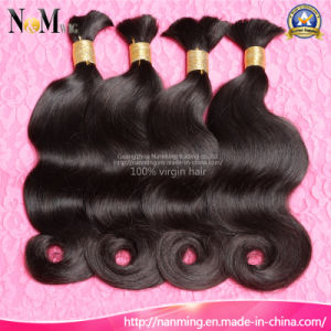 Wholesale Fashionable Raw Human Hair Material Virgin Brazilian Hair Bulk pictures & photos
