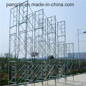 China SGS Passed Frame Scaffolding System for Construction pictures & photos