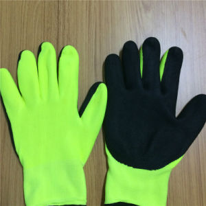 Cut 5 Gloves in 2 Layers with Sandy Nitrile Coating