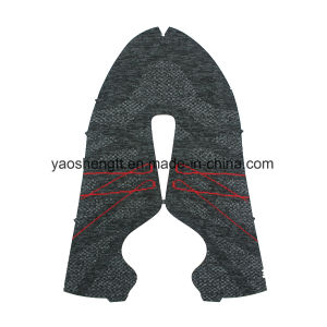 Shoes Upper Flat Knit Fabric pictures & photos