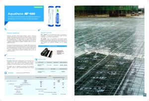Aquathene Wet Modified Bitumen Waterproof Membrane with Polyester Reenforcement pictures & photos