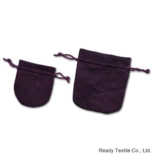 Custom Velvet Drawstring Jewelry Bag pictures & photos