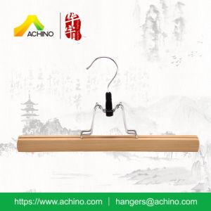 Wooden Pant & Skirt Hangers (WPSH301-Natural) pictures & photos