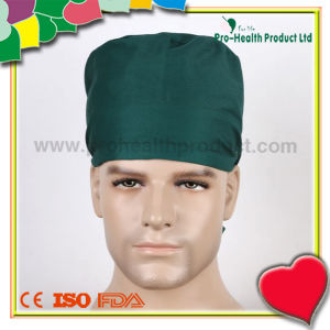 Hospital Cotton Surgical Doctor Cap with Tie pictures & photos