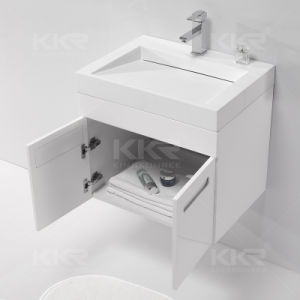 Kkr Modern Acrylic Solid Surface Cabinet Basin pictures & photos