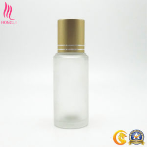 Small Round Frosted Bottle with Double-Lined Cap pictures & photos