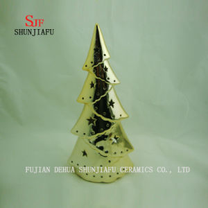Christmas Electroplated Ceramic Tree pictures & photos