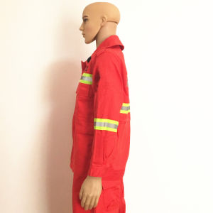 Flame Retardant Fireproof Functional Textile Workwear with Inspection pictures & photos
