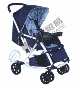 2 Colors Deluxe Canopy Baby Stroller