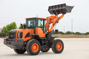 Ensign Brand 3 Ton Front Wheel Loader Yx638 pictures & photos