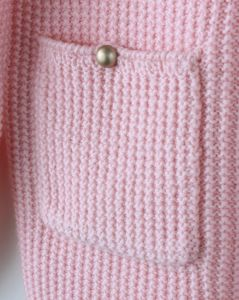 Phoebee Children Wear Girls Knitted Sweater with Pockets pictures & photos